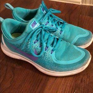 Nike Free lunarlon running shoes - Size 8.5